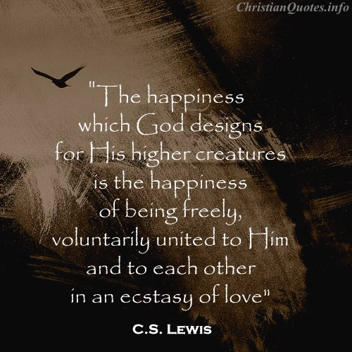 c s lewis quotes on god