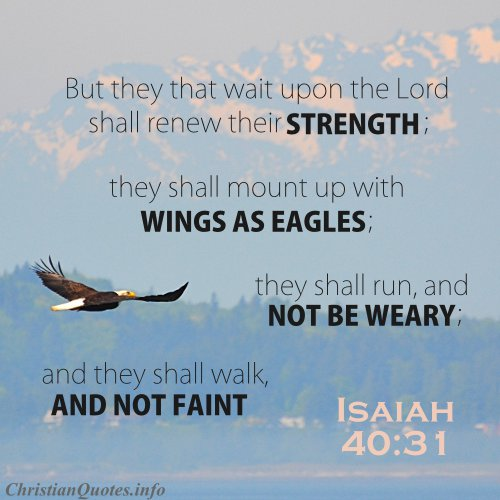 Isaiah 40 31 Isaiah 40 31 Scripture