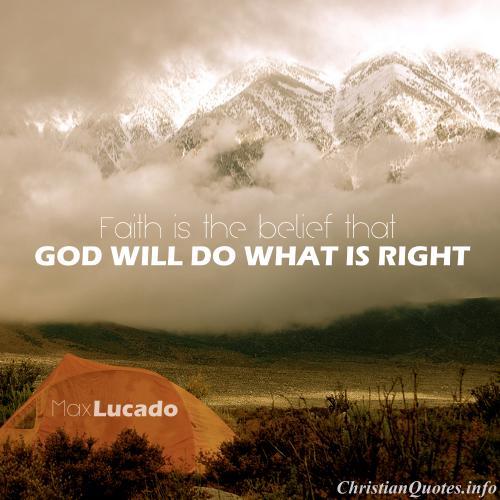 max lucado quote faith
