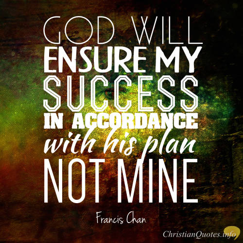francis chan quote 4 reasons why you should trust in god