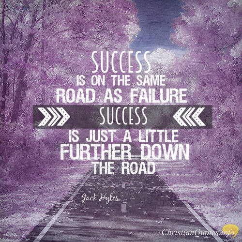 christian quote images about failure