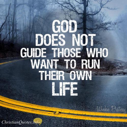 Winkie Pratney Quote - God Guides