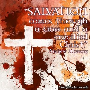 Salvation Quote - Andrew Murray