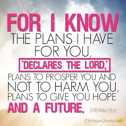 4 Plans God Has For Us | ChristianQuotes.info