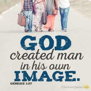 God created man in his own image